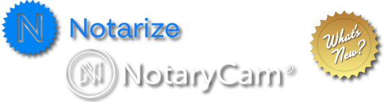 Notarize and Notary Cam Logos